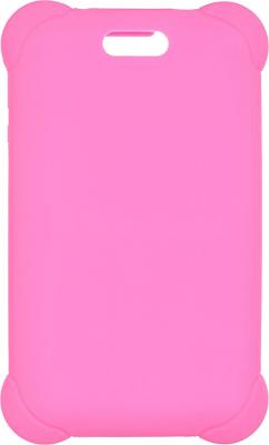 Картинка для Чехол Digma для Digma HIT 7556 силикон розовый