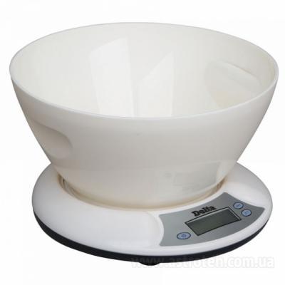Весы кухонные DELTA КСЕ-01 белый кухонные весы delta кса 103 white purple