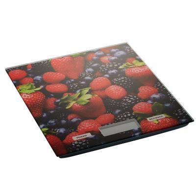 Весы кухонные DELTA КСЕ-27 Ягоды чёрный красный синий рисунок весы delta ксе 36 черника