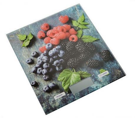 Весы кухонные DELTA КСЕ-51 Ягодный микс серый синий чёрный красный зелёный рисунок весы кухонные delta ксе 42 21 белый