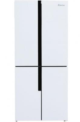 Холодильник BioZone BZCDF 201 AFGDW белый морозильная камера biozone bzfd 143 afw