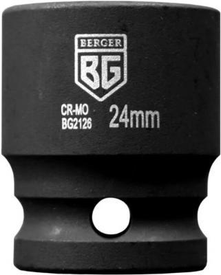 Фото - Головка торцевая ударная BERGER BG2126 1/2 24мм торцевая головка ударная berger bg2131