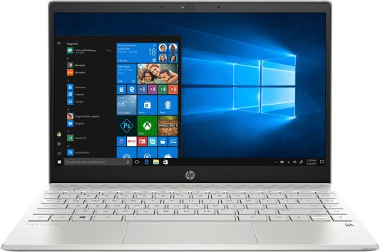 Ноутбук HP Pavilion 13 (тонкая рамка) 13-an0030ur 13.3 1920x1080 (IPS), Intel Core i3-8145U 2.4GHz, 4Gb, SSD 128Gb (M.2 ноутбук hp pavilion x360 15 dq0000ur core i3 8145u silver 6ps44ea