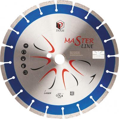 Круг алмазный DIAM Ф400x25.4мм Master Line 3.0x10мм по железобетону