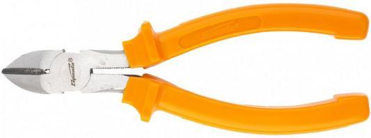 купить Бокорезы SPARTA 17558 160мм шлифованные пластмассовые рукоятки по цене 230 рублей