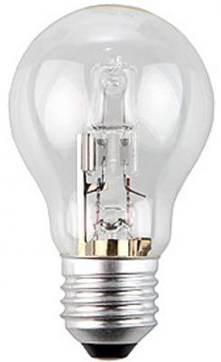 Лампа галогенная груша Эра Hal-A55-70W-230V-E27-CL E27 70W лампа галогенная шар эра hal p45 28w 230v e27 cl e27 28w 3000k