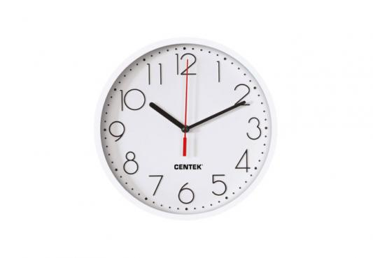 Часы настенные Centek СТ-7105 White часы настенные apeyron pl 7214 white black