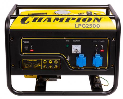 Картинка для CHAMPION Генератор   LPG2500, шт