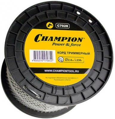 CHAMPION Корд трим. Round Pro 2.4мм *230м C7028 Корды CHAMPION, шт champion pro