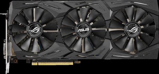 Видеокарта ASUS Radeon RX 590 ROG Strix PCI-E 8192Mb GDDR5 256 Bit — (90YV0CF0-M0NA00)