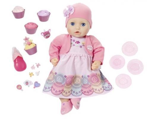 Кукла ZAPF Creation Кукла многофункциональная Праздничная 43 см пьющая писающая кукла yako m6579 6
