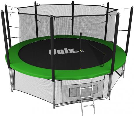 Батут UNIX line 14 ft inside (green) батут unix line inside 305 см 10 ft