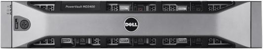 Дисковый массив Dell MD3800f x12 4x3Tb 7.2K 3.5 NL SAS RAID 2x600W PNBD 3Y 4x16G SFP/8Gb Cache (210-ACCS-32)