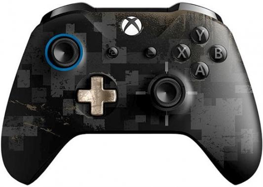 Геймпад Беспроводной Microsoft PUBG LE черный для: Xbox One (WL3-00116) геймпад microsoft xbox one controller grey blue bluetooth wl3 00106