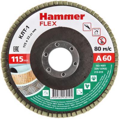 Круг лепестковый торцевой 115 Х 22 Р 60 тип 1 КЛТ Hammer Flex SE 213-019 115 х 22 р 60 тип 1 клт hammer flex 213 002 круг лепестковый торцевой