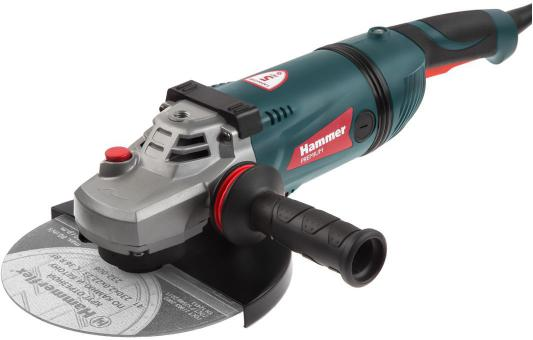 цена на УШМ HAMMER USM2600B PREMIUM 2600Вт 6500об/мин 230 мм поворотная рукоятка, плавный пуск