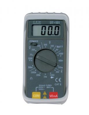 Мультиметр CEM DT-102 цифровой индикатор cem dt 2g