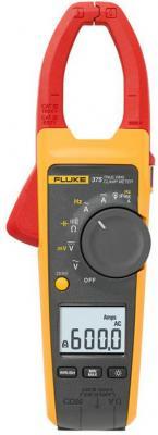 Клещи FLUKE 375 цифровая 600мА черный, желтый, красный 0,388кг цена и фото