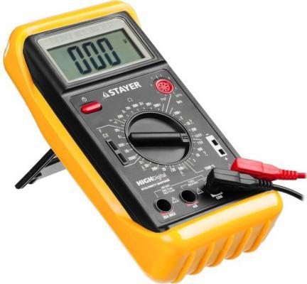 Мультиметр STAYER 45320-T expert highdigital цифровой мультиметр цифровой tek dt9208a цифровой