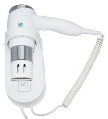 Фен настенный G-TEQ 8719 1200Вт 15м/с 110х310х260мм пластик белый/хром 2скорости хол.обдув дозатор g teq 8626 auto