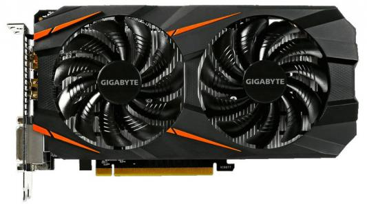 Видеокарта 3072Mb Gigabyte GeForce GTX1060 PCI-E 192bit GDDR5 DVI HDMI DP GV-N1060WF2-3GD Retail из ремонта pci e to