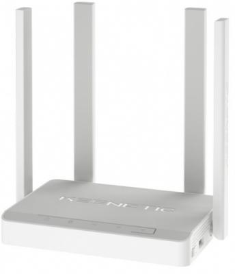Беспроводной маршрутизатор Keenetic Viva 802.11aс 1267Mbps 2.4 ГГц 5 ГГц 4xLAN USB серый (KN-1910) цены онлайн