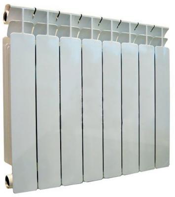 Радиатор биметаллический RIFAR Base 8 500 х 8 секций биметаллический радиатор rifar base ventil bvr 500 05