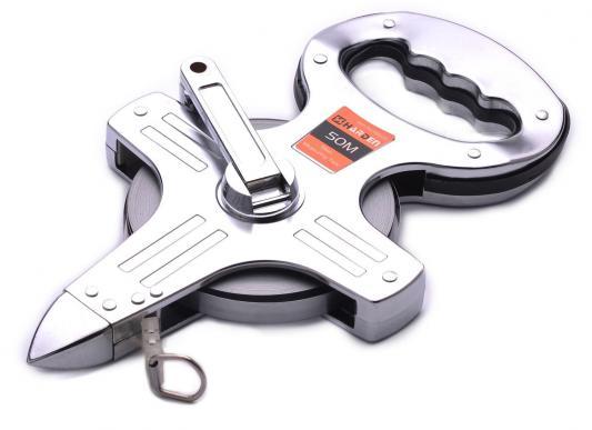 Рулетка HARDEN 580225 геодезическая с фиберглассовой лентой открытый металлический корпус 50м. рулетка harden 580036