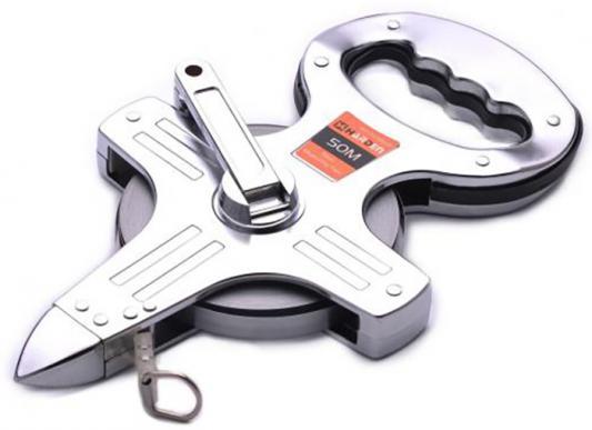 Купить Рулетка HARDEN 580230 геодезическая с фиберглассовой лентой открытый металлический корпус 100м.