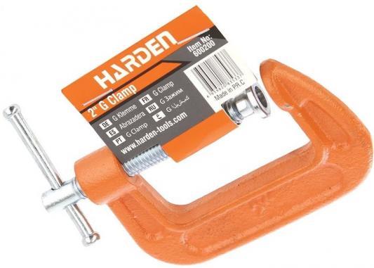 Струбцина HARDEN 600200 g-образная усиленная 50 мм цена