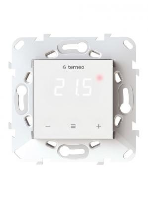 Терморегулятор TERNEO s для теплого пола. Термозащита. 3 000 ВА. 16 А. 5-40 °С. регулятор теплого пола terneo терморегулятор pro