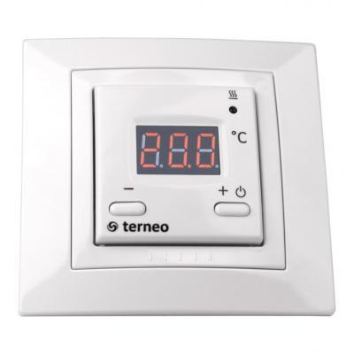 Терморегулятор TERNEO st для теплого пола. 3 000 ВА. 16 А. 10-40 °С. регулятор теплого пола terneo терморегулятор pro