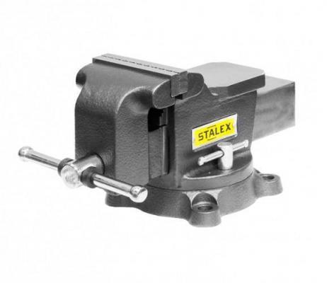 Тиски слесарные STALEX Гризли M50 125 х 125 мм. 360°. 12.5 кг. угловой зажим stalex ac 100 376302