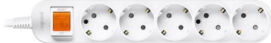 Удлинитель LEGRAND Anam e-Fren 5 L855961D2 с выключателем шнур 2.5м 16A 250V 2 pcs ac 250v 16a rotating pins power adapter connector us au plug