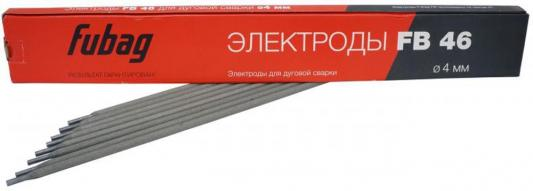 Электроды FUBAG 38857 электрод сварочный с рутилово-целлюлозным покрытием fb 46 d4.0мм пачка 0.9 к