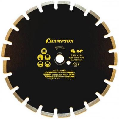 Диск алмазный Champion 350 C1630, шт диск алмазный champion 230х22 2мм marathon c1617