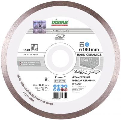 DISTAR Круг алмазный 1A1R 180*1.4*8.5*25.4 Hard ceramics, шт диск алмазный сплошной по керамике hard ceramics 150х25 4 мм distar 11120048012