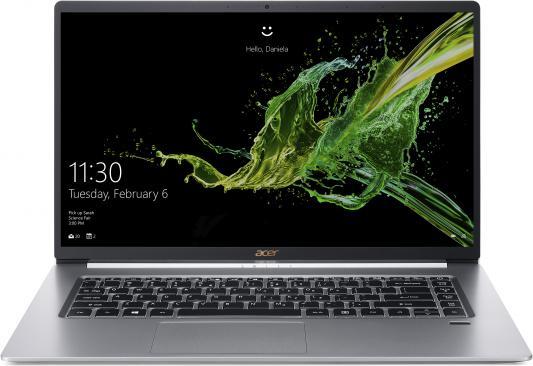 "Ультрабук Acer Swift 5 SF515-51T-7337 Core i7 8565U/16Gb/SSD1Tb/Intel UHD Graphics 620/15.6""/IPS/Touch/FHD (1920x1080)/Windows 10/silver/WiFi/BT/Cam цена"