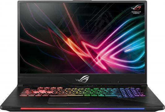 Ноутбук Asus GL704GM-EV068T SCAR i7-8750H (2.2)/8G/1T+256G SSD/17.3 FHD AG IPS 144Hz/NV GTX1060 6G/noODD/BT/Win10 Gunmetal ноутбук dell alienware 15 r4 i5 8300h 2 3 8g 1t 128g ssd 15 6 fhd ag ips nv gtx1060 6g backlit win10 a15 7695 silver