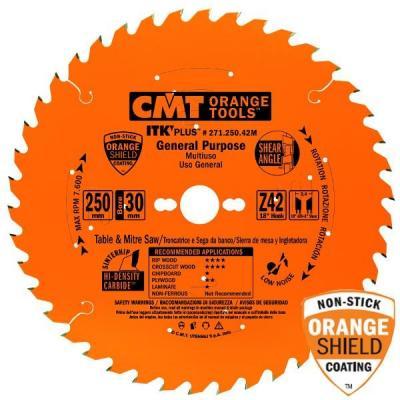 Диск пильный 300x30x2,6/1,8 18° 10° ATB + 8° SHEAR Z=48 271.300.48M CMT, шт пильный диск construct 305х30 мм 48 atb dewalt dt1959