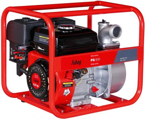 Картинка для Мотопомпа бензиновая для чистой воды PG 600 (600 л/мин_30м) FUBAG, шт