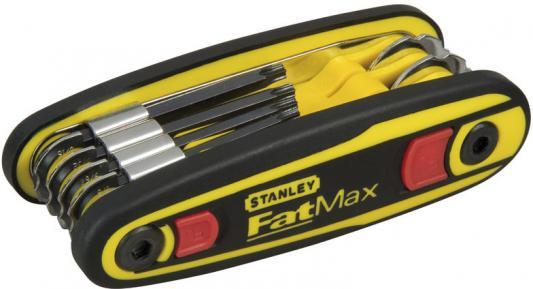 Stanley набор из 8-ми торцевых шестигранных складных ключей fatmax locking metric с фиксатором 1.5, шт