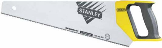 Stanley ножовка по дереву универсальная с закаленным зубом 12 х 380мм (1-20-002), шт stanley 1 20 002 универсальная ножовка 380 мм yellow