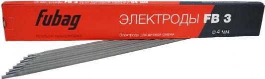 Электрод сварочный с рутиловым покрытием FB 3 D4.0 мм (пачка 0.9 кг) FUBAG, шт