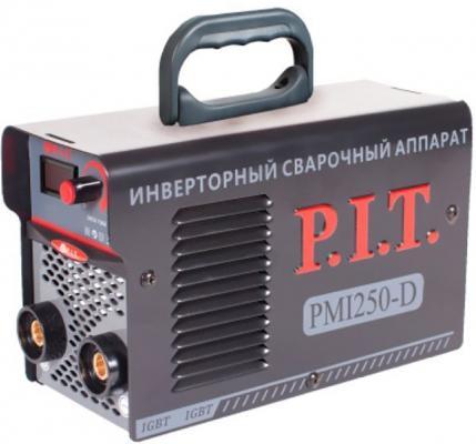 Сварочный инвертор PMI250-D IGBT P.I.T.(250 А,ПВ-60,1,6-4 мм,от пониженного 170,гор.старт,дисплей) , шт