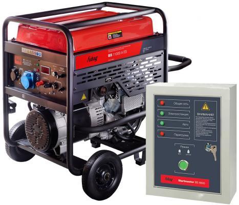 Бензиновая электростанция с электростартером и коннектором автоматики BS 11000 A ES (838789)+ Блок а, шт блок автоматики для газовых генераторов briggs