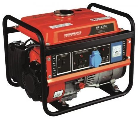 Бензиновый генератор БГ-1200А Workmaster, шт бензиновый генератор автомат lifan 5gf 5a