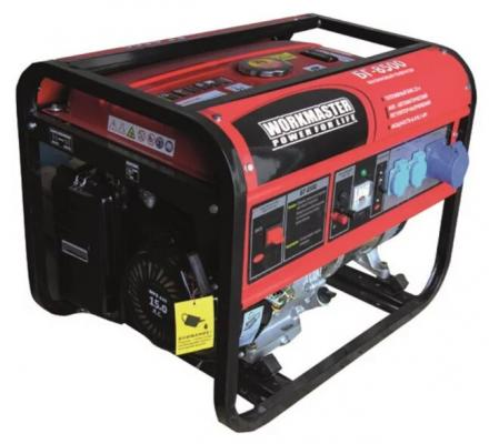 Бензиновый генератор БГ-8500 Workmaster, шт генератор бензиновый kipor kge 12 e