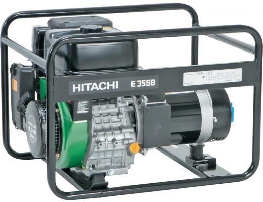 Hitachi E35SB Генератор ном. 2,8кВт макс. 3,5кВт, топл.бак 6л, шт инверторный генератор hitachi e10 u