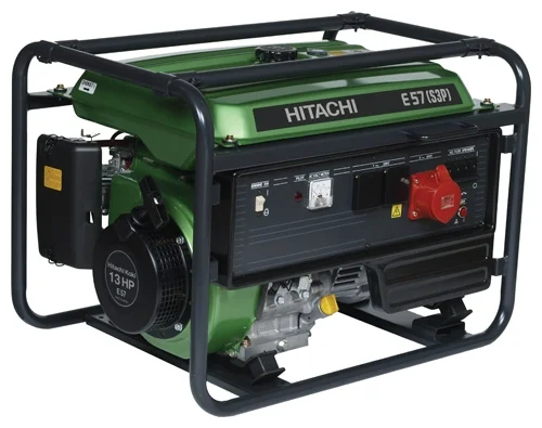 HITACHI Генератор E57 (S3P), шт hitachi e50 3p бензиновый генератор